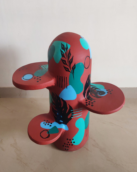 Cactus Clay Side Table