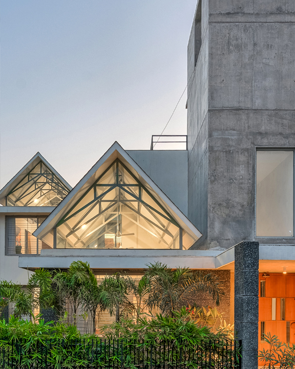 The Gable House by UA Labs, Ahmedabad
